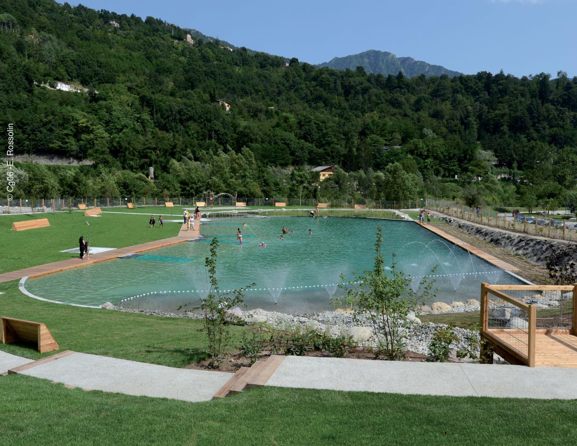 Roquebilli re thermale - Bassin baignade biologique bordeaux ...